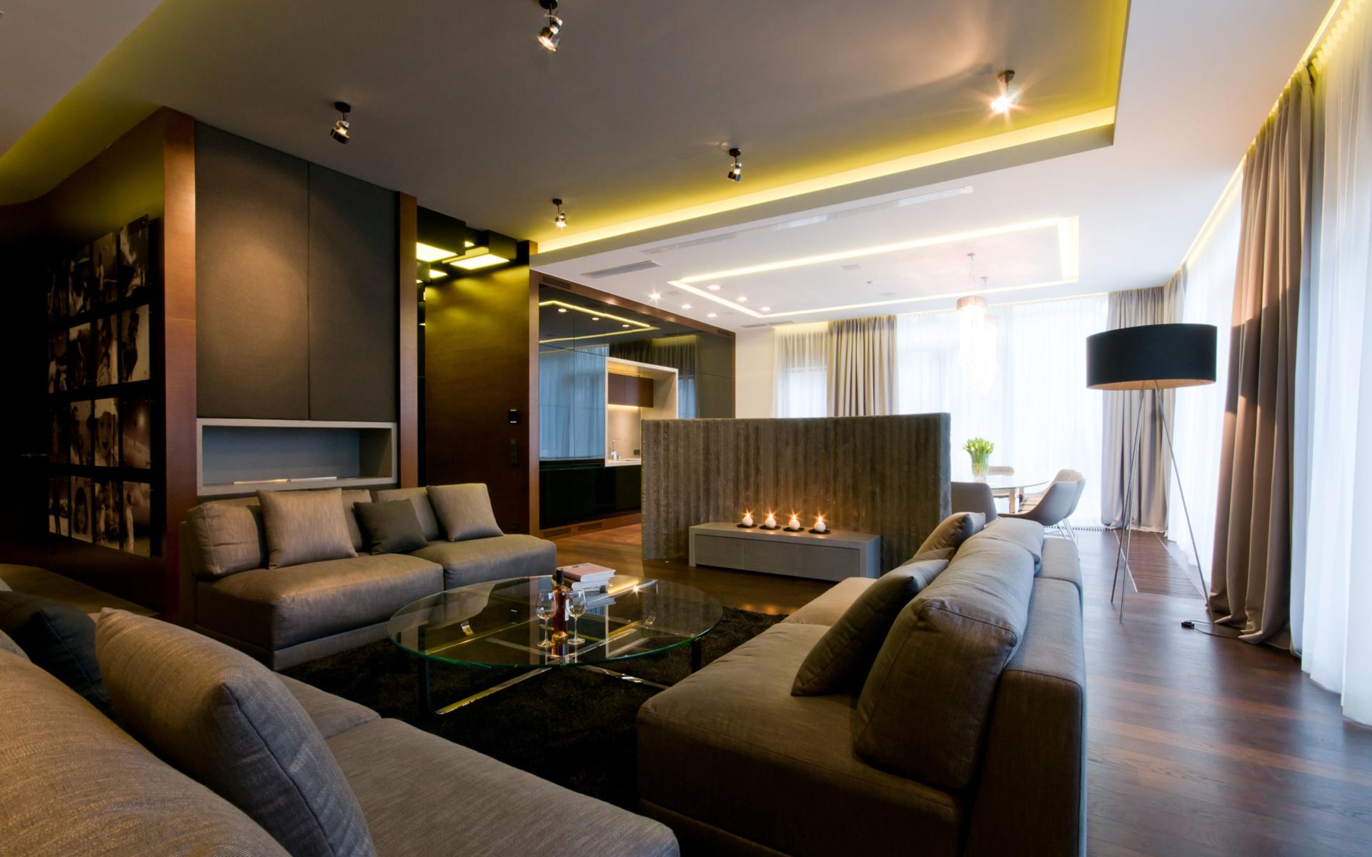 Двухкомнатная квартира-студия