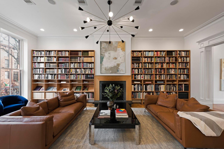 Дизайн интерьера библиотеки