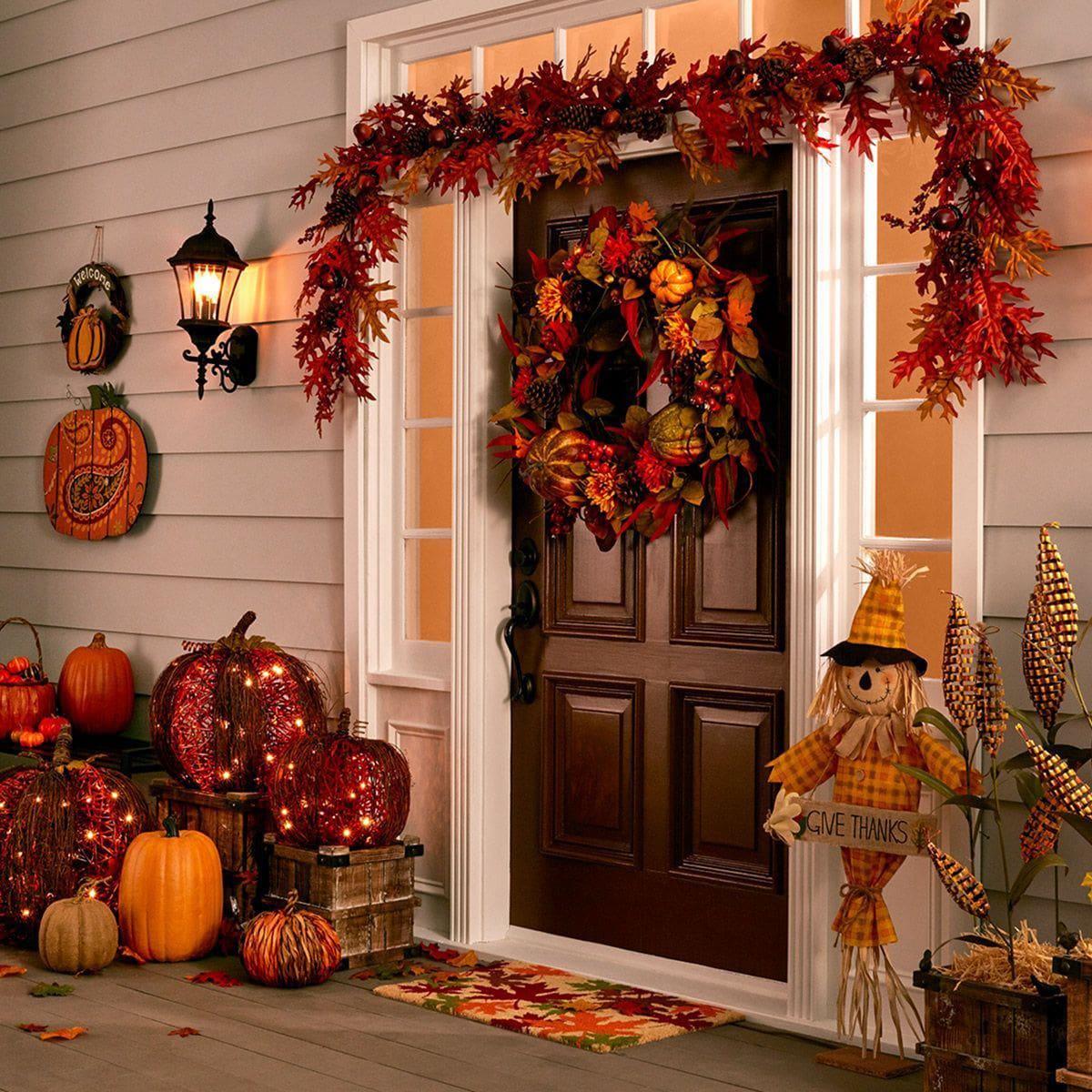 Осенний интерьер в квартире