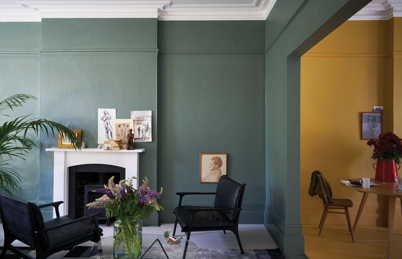 Краска в квартире
