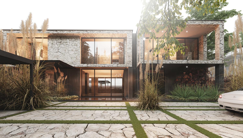 Дизайн-проект элитных домов