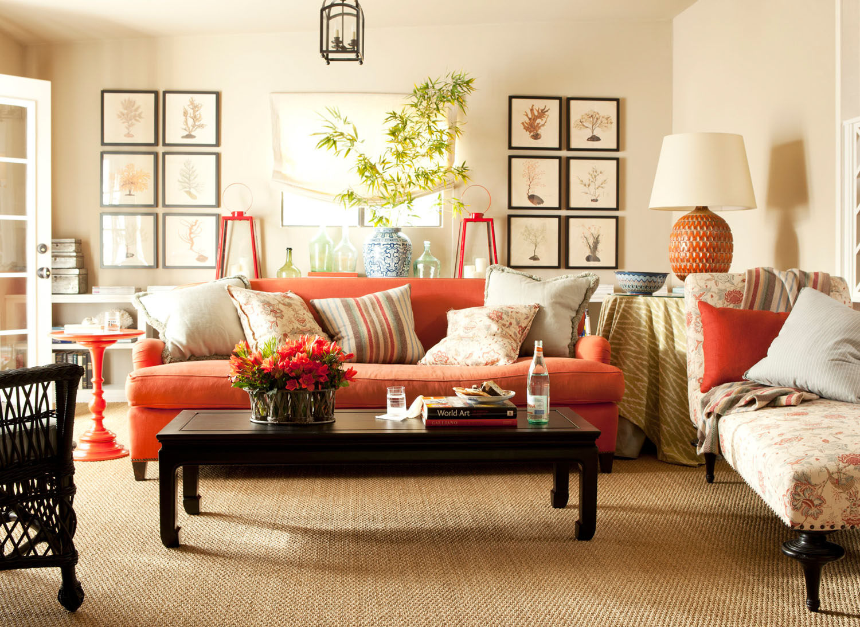 Цвета в дизайне квартир