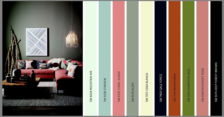 Тёплые и холодные цвета в дизайне