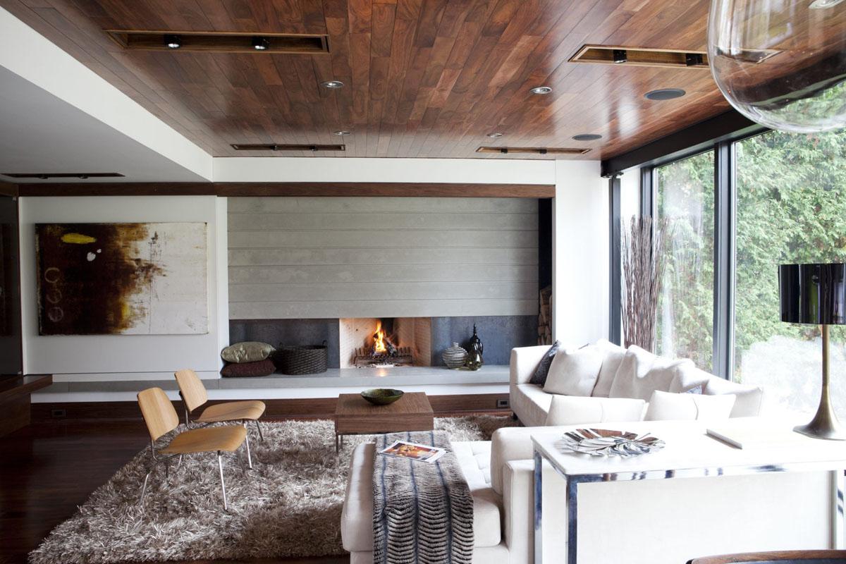 Деревянный стиль дизайна