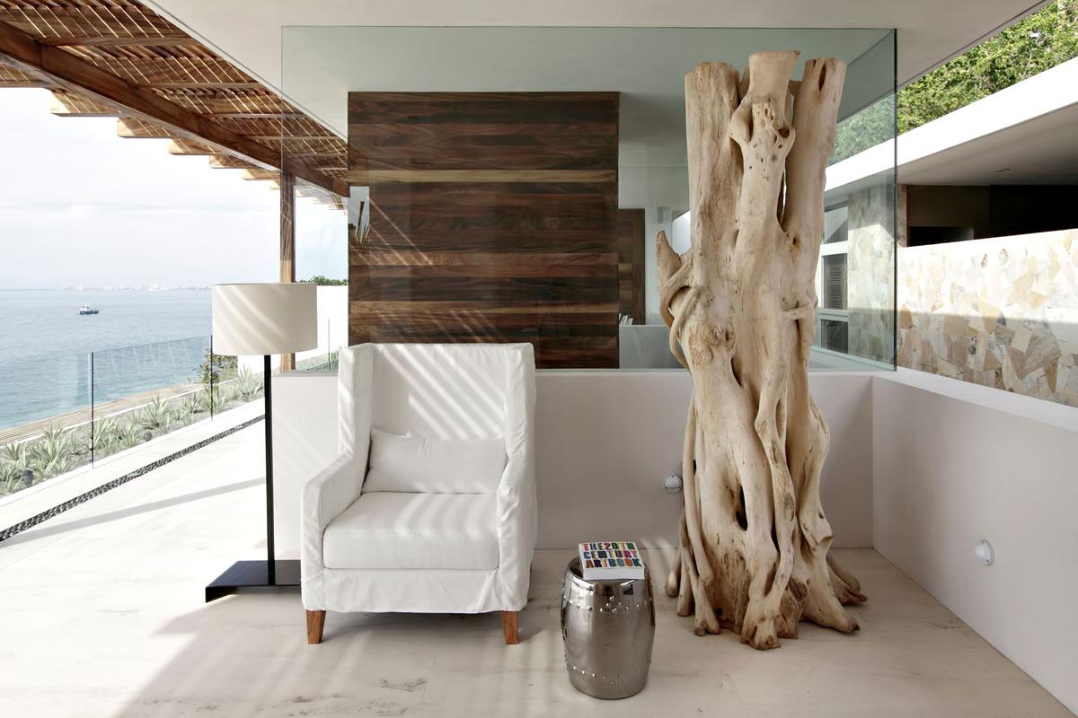 Дерево в дизайне интерьера
