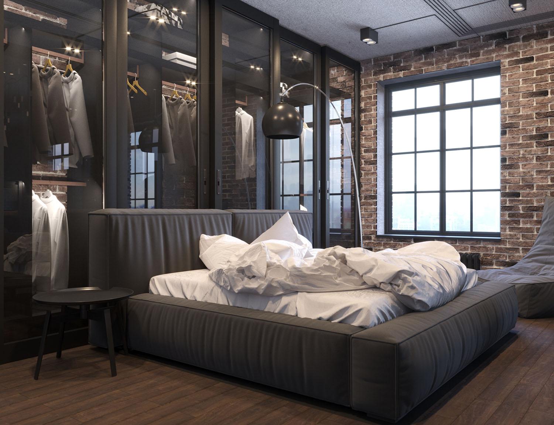 Лофт-спальня