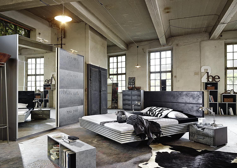 Лофт дизайн спальни