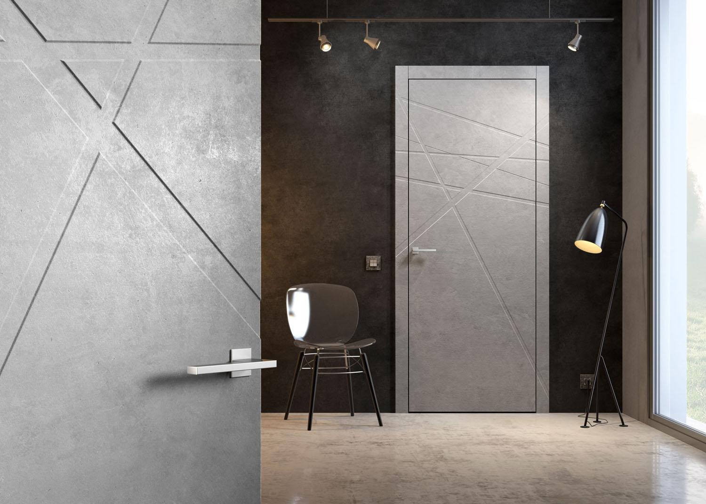 Дизайн входных дверей снаружи