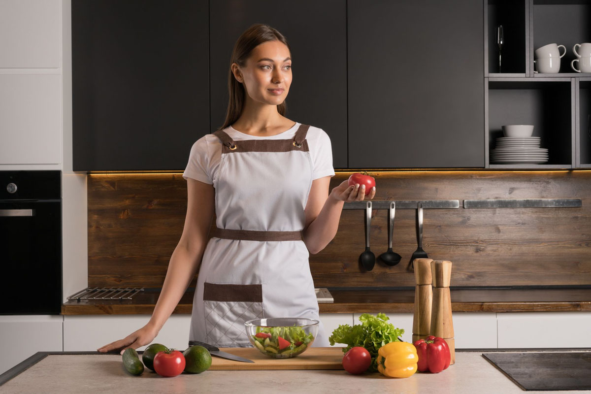 Виды кухонных фартуков