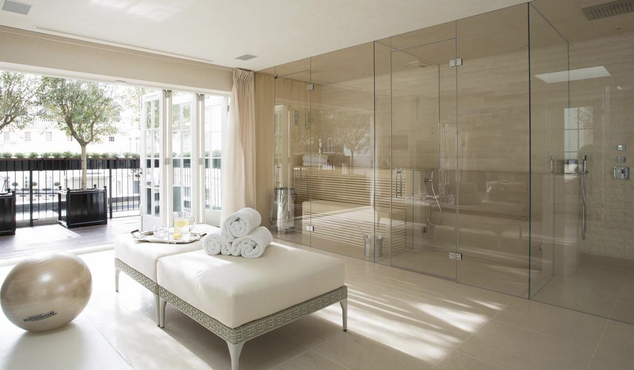 Дизайн интерьера со стеклом