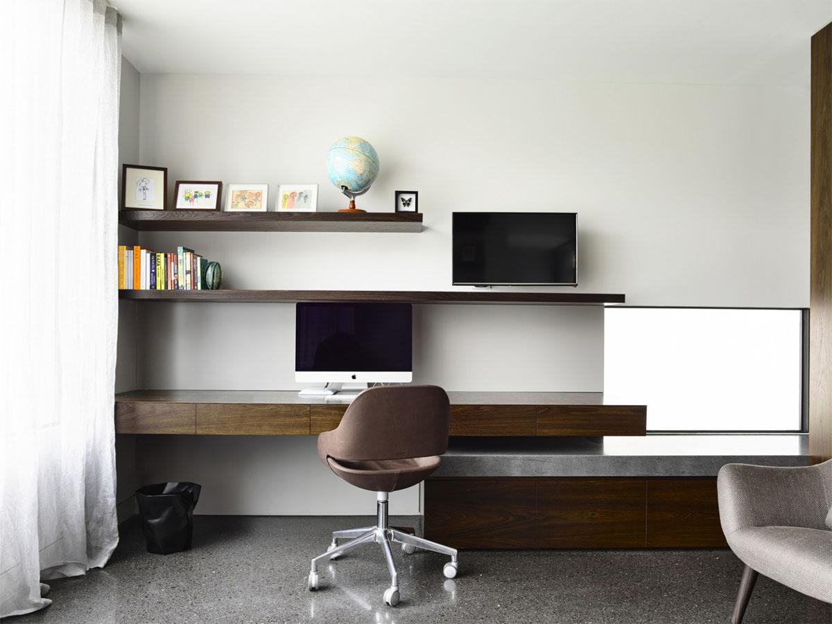 Компьютерный стол в современном дизайне