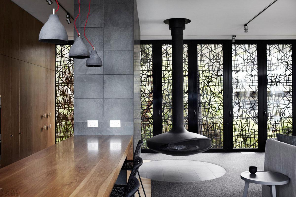 Металл в интерьере квартиры