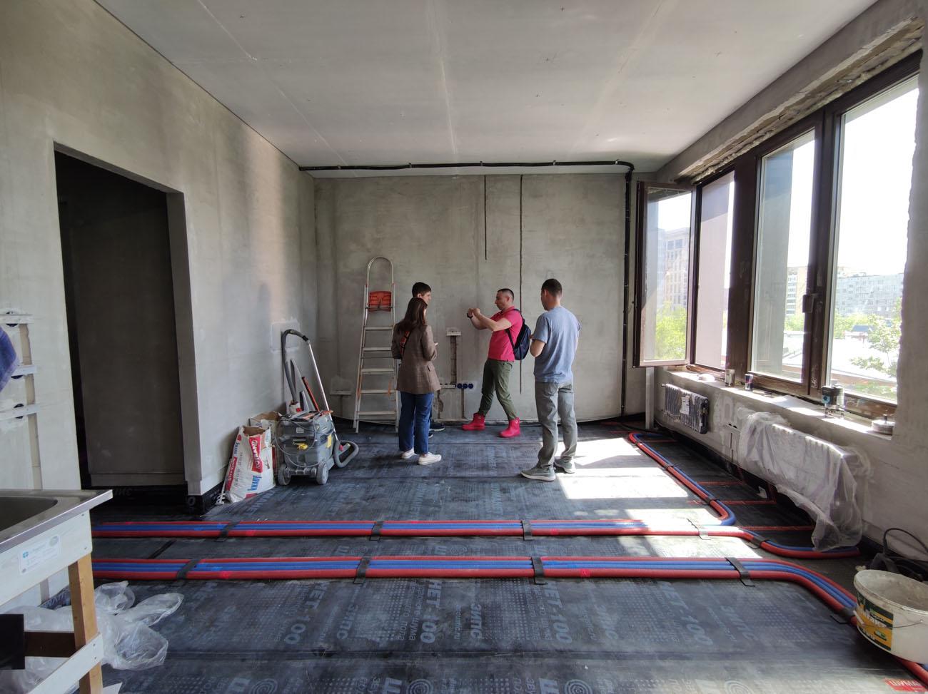 Найти бригаду для ремонта квартиры