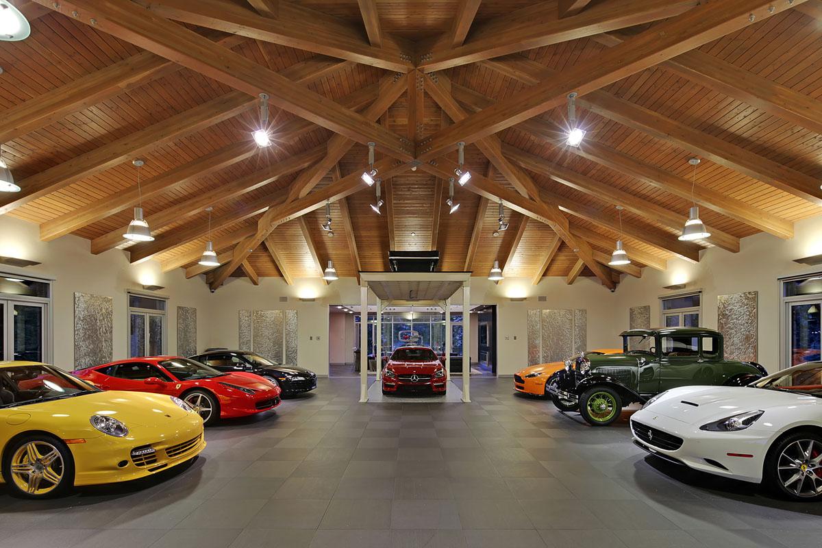 Разработка интерьера гаража