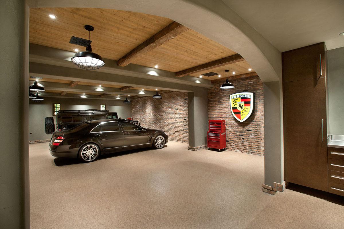 Дизайн проект интерьера гаража
