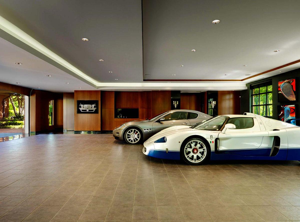 Дизайн гаража в частном доме