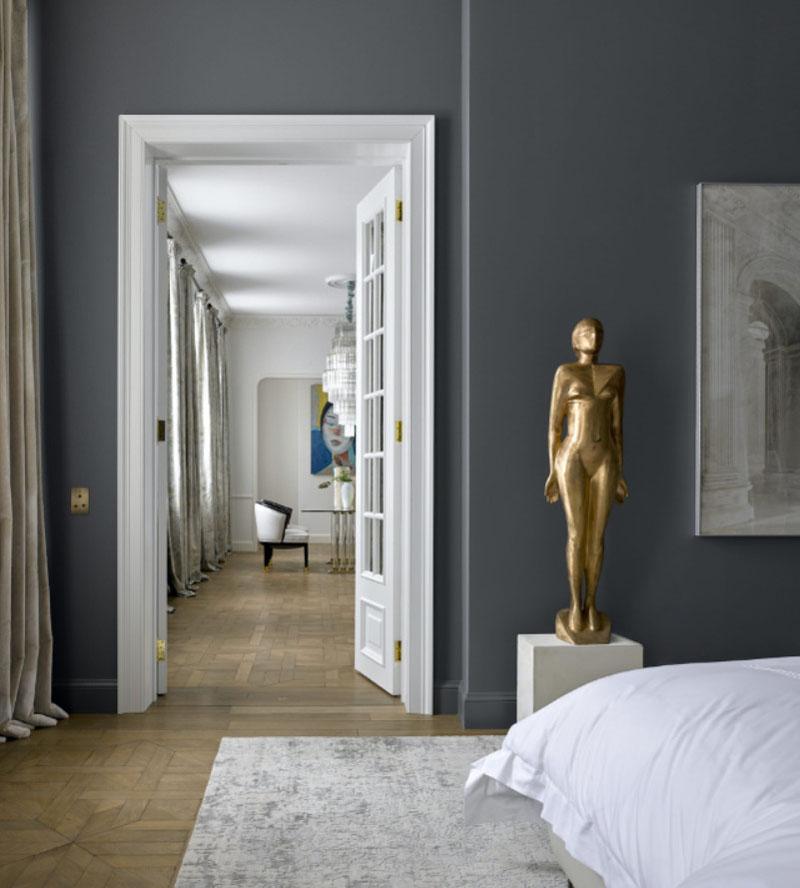 Скульптуры в дизайне интерьера